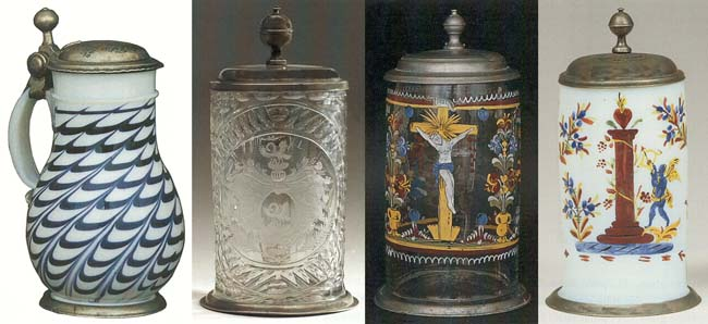 beer stein article introduction to glass steins