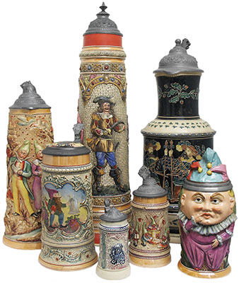 "Beer Stein Article - ""Identifying and Dating Diesinger Steins"""